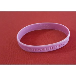 Armband Rubber  'Prayer Power'