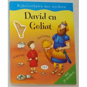 David & Goliath (Bijbelverhalen met stickers)