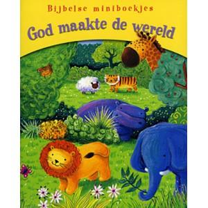 God maakte de wereld - Bijbelse miniboekje