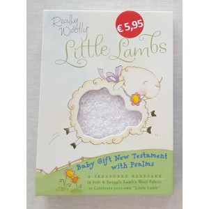 Really Woolly Little Lambs  >>  Baby gift New Testament with Psalms