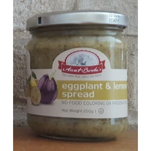 Eggplant & Lemon Spread