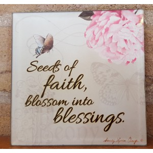Glass Tabletop Seeds Of Faith